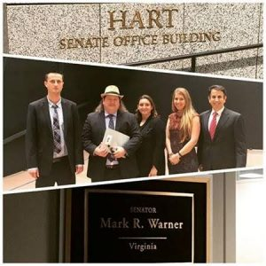 Meeting with Senator Mark Warner's Chief of Staff, Mike Harney