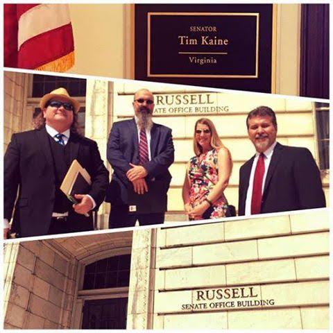 Meeting with Senator Tim Kaine