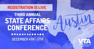 Registration for the VTA 3rd Annual State Affairs Conference is now open!