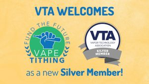 Vape Tithing joins the VTA!