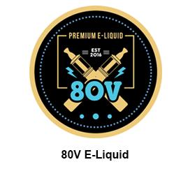 80V E-Liquid Logo