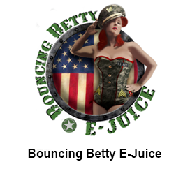 Bouncing Betty E-Juice Logo